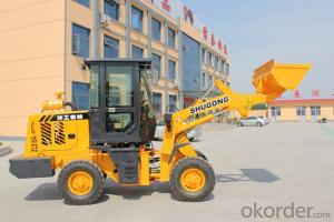 mini construction equipment ZL916A wheel loader with CE certification