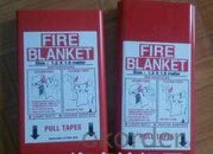Fire Blanket Fiberglass Heat Insulation Soft Material