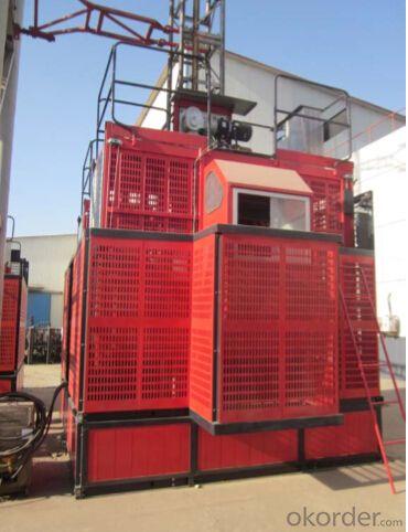 construction hoist max capacity  2000 kg