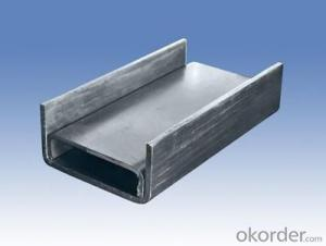 U shaped steel  matierial with good quality
