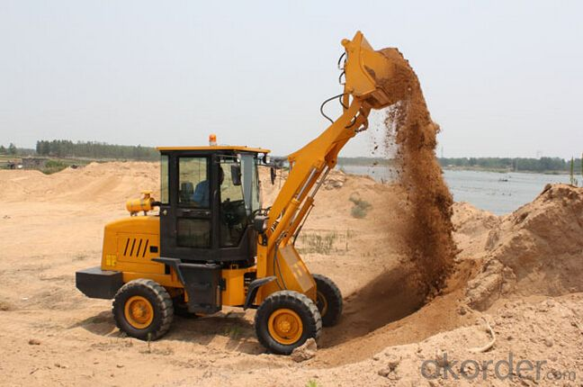 mini construction equipment ZL16f wheel loader with CE certification