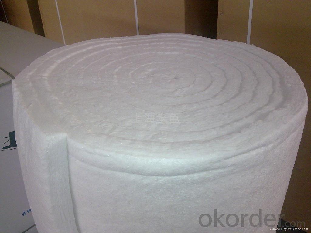 ceramic heat resistant  fiber blanket for furnace indusrey