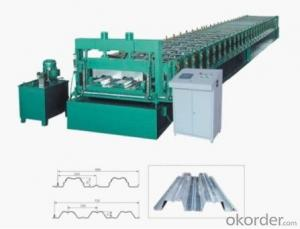 Metal Decking Floor Cold Roll Forming Machines