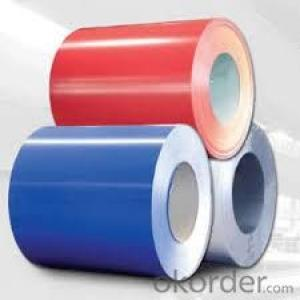Prepainted Galvanized Rolled steel coil  in China