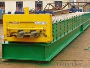 Steel Decking Floor Cold Roll Forming Machines