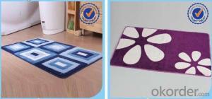Anti Slip Mat  High quality personalized  Machine Woven door mat