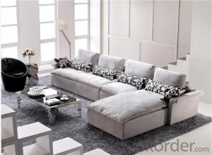 Living Room Sofa Set Fabric Material Velour Model 808