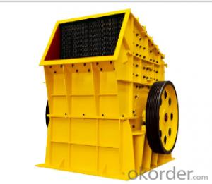 Impact crusher used on mining, metallurgy and cement plant