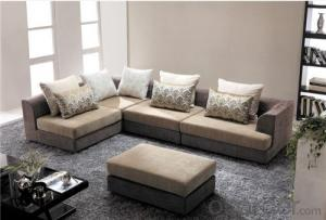 Living Room Sofa Set Fabric Material Velour Model 802-2