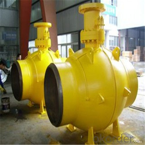 Full Welded Forged Steel Ball Valve DN 30 inch