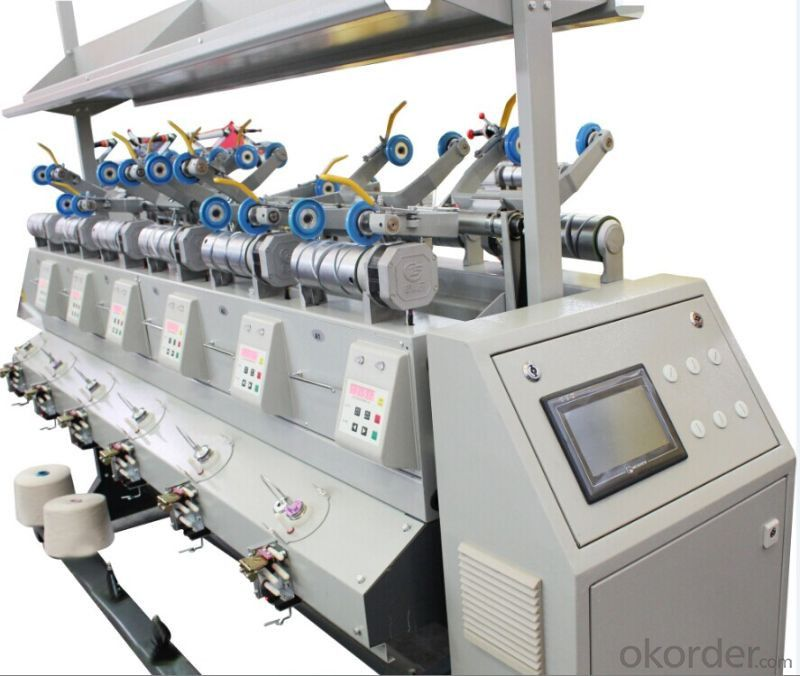 Metal Bobbin Winding Machine for Tight Yarn