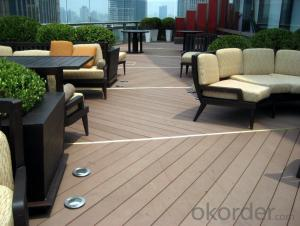 Wpc Decking/PVC Decking/Popular Environmental Garden Outdoor WPC Decking