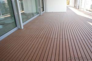 Outdoor Decking / Cheap price wood plastic composite deck
