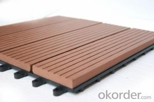WPC DIY decking Floor/wpc DIY flooring/wpc interlocking decking tiles