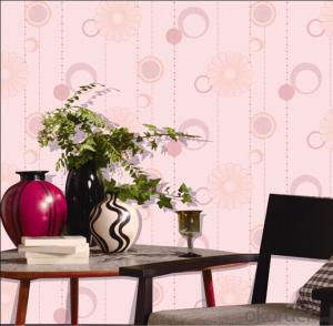 Non-woven Wallpaper Unique and Colorful Fashion Wallpaper for Living Room
