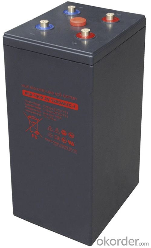 Solar Battery REX Series for Solar and Wind Power  REX-1000