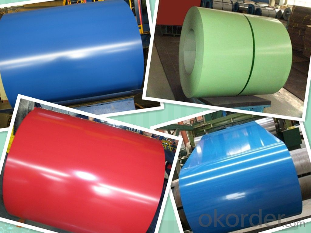 Buy Best Seller Color Coated Sheet Corrugated Roofing Sheets Al Zn Galvanized Steel Coil Ppgi Price Size Weight Model Width Okorder Com