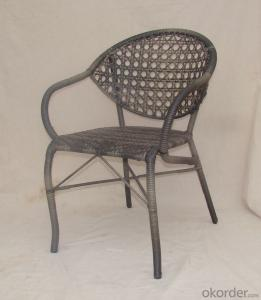 Outdoor Rattan Single Table with Chair for Garden CMAX-SC008
