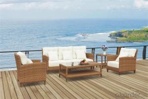 Garden Sofa PE Rattan with Aluminum Frame  CMAX-YT012