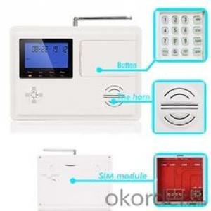 Android APP & iOS APP Wireless Control Panel gsm alarm system G1  CNBM