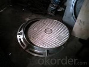 Manhole Cover EN124 D400 Foundry Stock with Good Quality Made in China