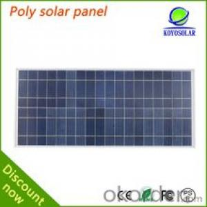 Best sell A grade cell mono and poly crystal panel  cnbm