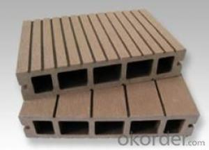 Composite Wood Decking with recycled material
