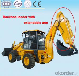 Backhoe Telescopic Arm, Lengthen arm by 1300 mm