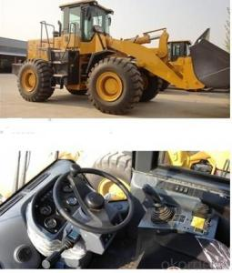 Front Wheel Loader YN966 3.5cbm Bucket Capacity
