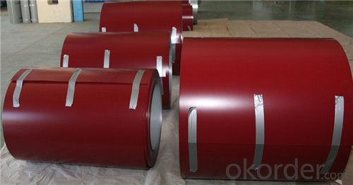 Z42 BMP Prepainted Rolled Steel Coil for Constructions