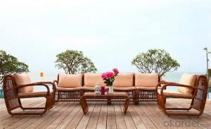 Rattan Garden Dining Set  Outdoor Furniture CMAX-DS008MYX
