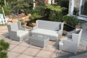PE Rattan Garden Patio Outdoor Sofa Set   CMAX-SS004LJY