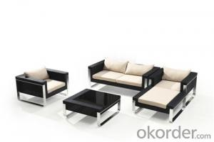 Low Arm Back Chair Outdoor Sofa Set   CMAX-SS006LJY