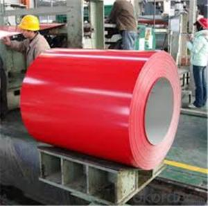 Z38 Prepainted Rolled Steel Coil for Construction