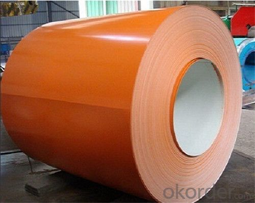 RAL Scale Z35 Prepainted Rolled Steel Coil for Construction Roofing