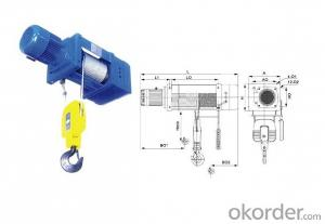 DHK 3ton Chain Hoist Electric High Quality