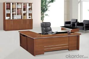Office Table/Commerical Desk Classical Boss Table Solid Wood/MDF/Glass with Best Price CN807