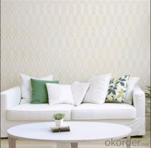 PVC Wallpaper Home Interior Soundproof Wallpaper