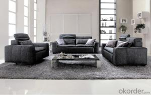 Soft Fabric Sofa Classic Style for Living room