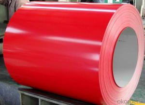 RAL Scale Z65 Prepainted Rolled Steel Coil for Construction Roofing