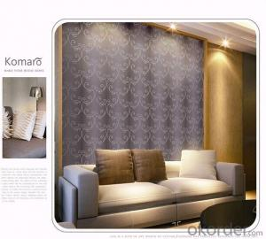 PVC Wallpaper Straw Modern Solid Color Embossed Classic Bedroom Textured Wallcovering