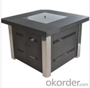 Iron steel square cover Gas Fire PitGazebo Patio Heater Outdoor Furniture Buy at okorder