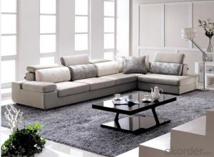 Modern Style Fabric Chaise Sofa for Living room