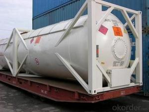 20FT Cement Tank Container for Transporting Oil and Gas