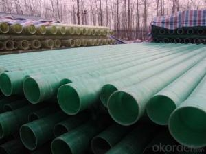 GRP/FRP pipes with Large diameter hydraulic transmission