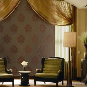 PVC Wallpaper Flower Fashion Brief Furniture Adhesive Wallpaper