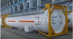 20FT Cement Tank Container for Storing Fuel and Gas
