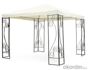White Gazebo Waterproof Gazebo To Saudi Arabia