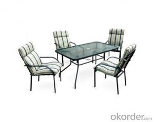 Outdoor Beach Textilene Garden Table and Chair set