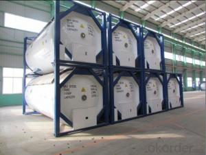 20FT Steel Shipping Tank Container for Storing Oil and Gas